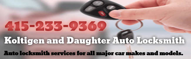 415-233-9369 Gary and Son AcuLock auto locksmith service for all major car makes and models.